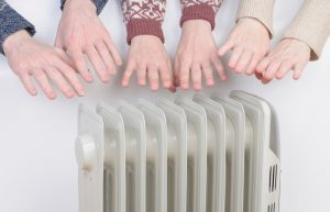family-warming-with-electric-heater